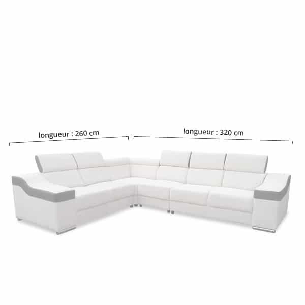 eva 6 places canap neuf pas cher 100 personnalisable en mati res coloris. Black Bedroom Furniture Sets. Home Design Ideas